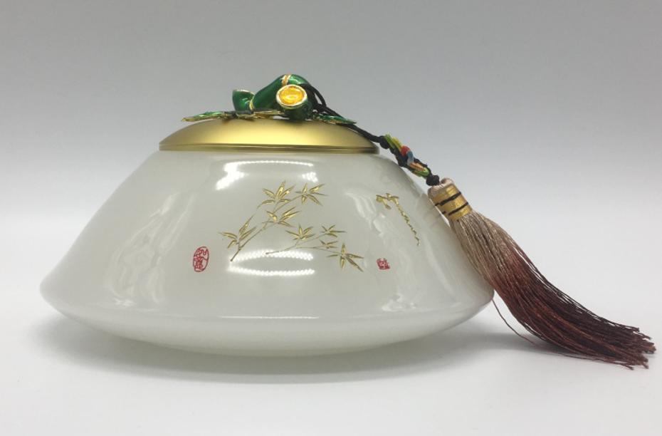 琉璃特色茶叶罐
