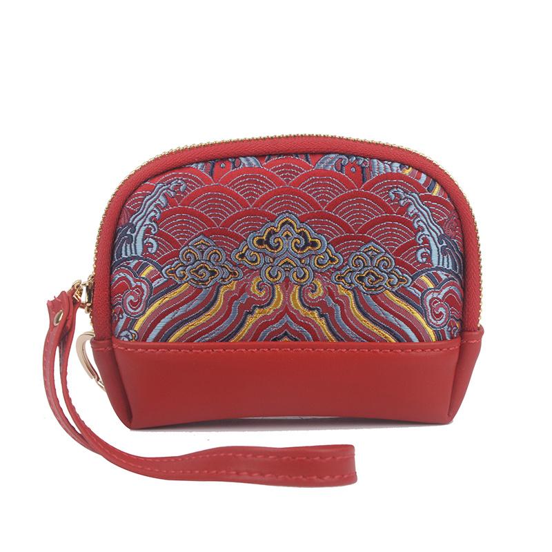 YJ488-B红色零钱包