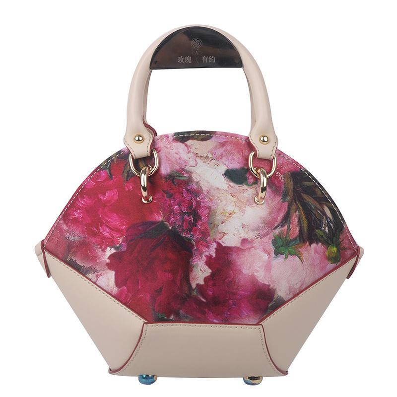 ZS017花开富贵手提包